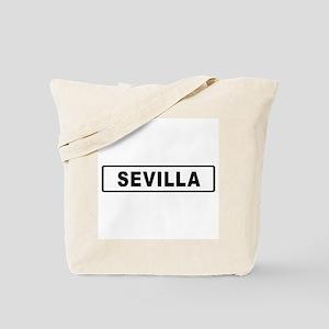 Roadmarker Sevilla - Spain Tote Bag