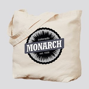 Monarch Ski Resort Colorado Black Tote Bag