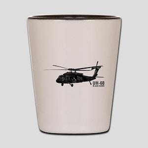 UH-60 Black Hawk Shot Glass