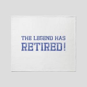 The legend has retired! Stadium Blanket