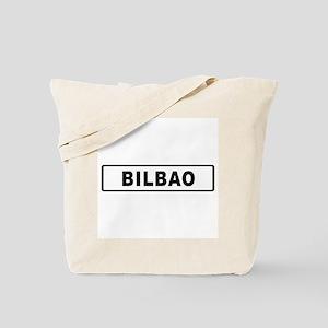 Roadmarker Bilbao - Spain Tote Bag