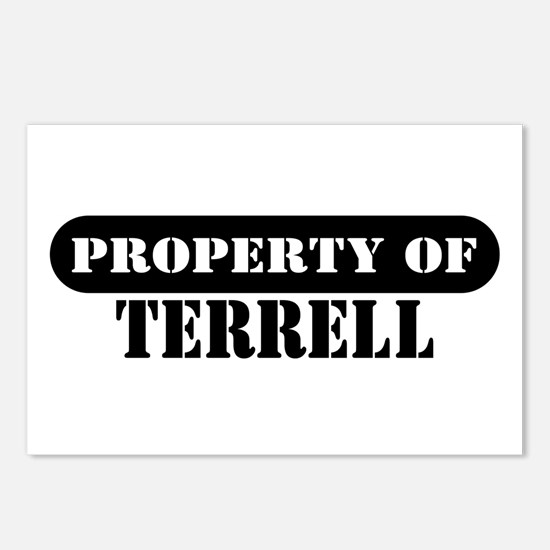 Property of Terrell Postcards (Package of 8)