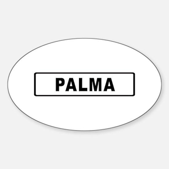 Roadmarker Palma de Mallorca - Spain Decal