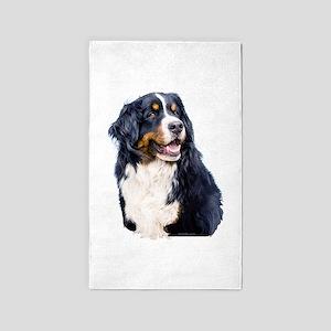 Bernese Mountain Dog 3'x5' Area Rug