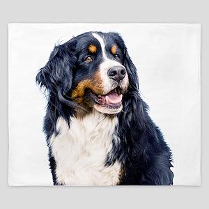 Bernese Mountain Dog King Duvet
