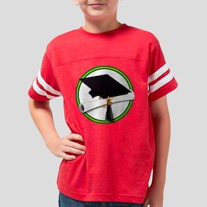 Graduation Cap with Diploma,G Youth Football Shirt