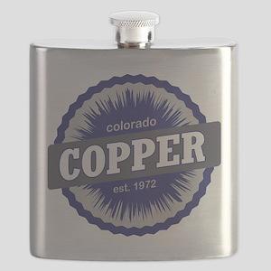 Copper Mountain Ski Resort Colorado - Blue Flask