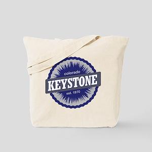 Keystone Ski Resort Colorado - Blue Tote Bag