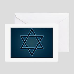 star of david Greeting Cards
