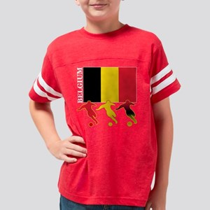 3-soccer belguim drk Youth Football Shirt