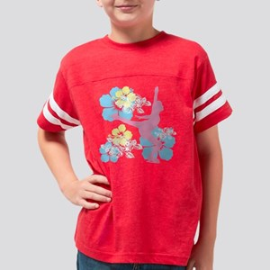 axelent_floral2 Youth Football Shirt