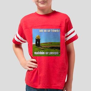 lolmeeple_tower Youth Football Shirt