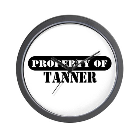 Property of Tanner Wall Clock