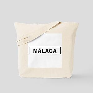 Roadmarker Málaga - Spain Tote Bag