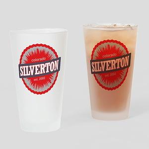 Silverton Ski Resort Colorado Red Drinking Glass