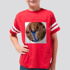 Tai Bo Golden Retriever Puppy Youth Football Shirt