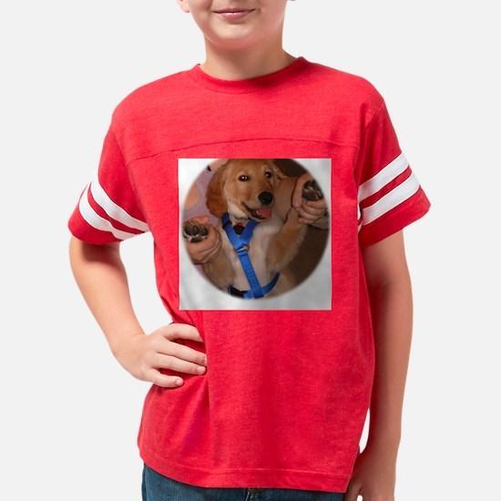 Tai Bo Golden Retriever Puppy Youth Football Shirt