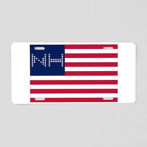 NH-F Aluminum License Plate