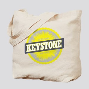 Keystone Ski Resort Colorado Yellow Tote Bag