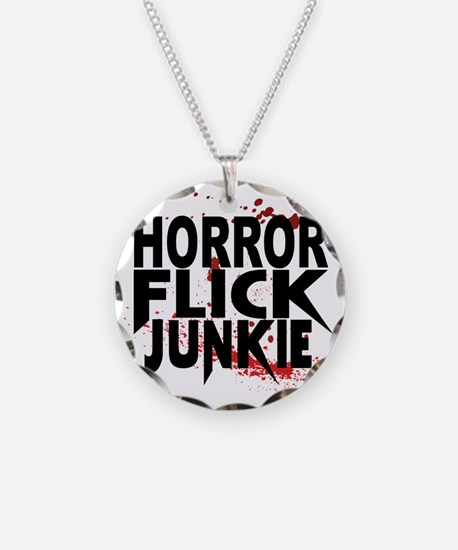 Horror Flick Junkie Necklace