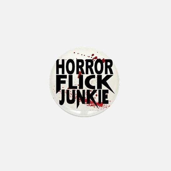 Horror Flick Junkie Mini Button