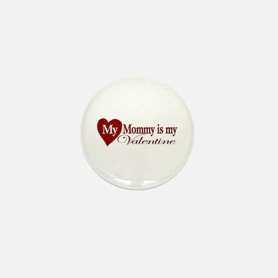 Mommy Valentine Mini Button