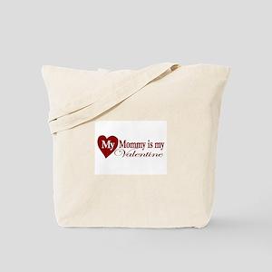 Mommy Valentine Tote Bag