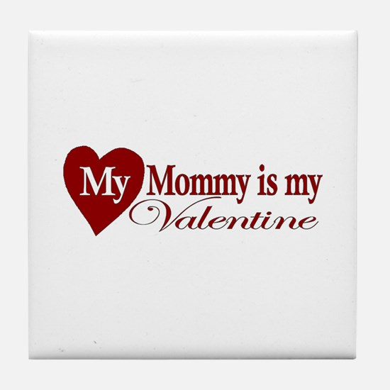 Mommy Valentine Tile Coaster
