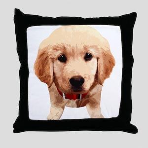 Golden Retriever002 Throw Pillow