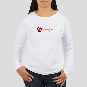 Mommy Valentine Women's Long Sleeve T-Shirt