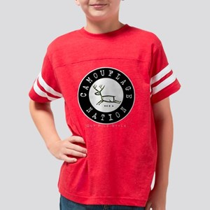 CamoDeer Youth Football Shirt