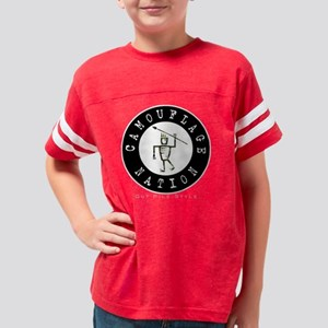CamoHunter Youth Football Shirt