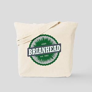 Brian Head Ski Resort Utah Green Tote Bag