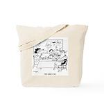 Free Range Cows Tote Bag