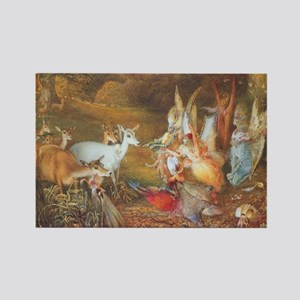 Enchanted Forest by Fitzgerald Rectangle Magnet
