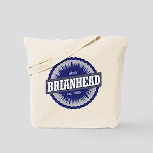 Brian Head Ski Resort Utah Blue Tote Bag