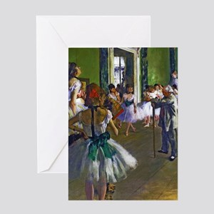 Degas - The Ballet Class Greeting Cards