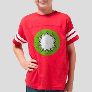 soccerwallclock Youth Football Shirt