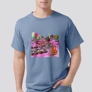 Pink Candyland Mens Comfort Colors Shirt