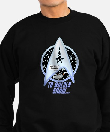 To Boldly Snow Jumper Sweater