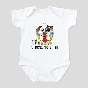 1st Valentine's Day Infant Bodysuit