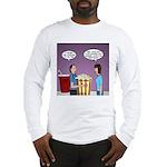 Movie Pop and Popcorn Long Sleeve T-Shirt