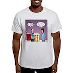 Movie Pop and Popcorn Light T-Shirt