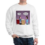 Movie Pop and Popcorn Sweatshirt