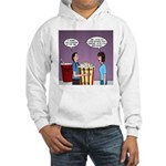 Movie Pop and Popcorn Hooded Sweatshirt