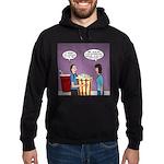 Movie Pop and Popcorn Hoodie (dark)