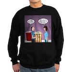 Movie Pop and Popcorn Sweatshirt (dark)