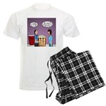 Movie Pop and Popcorn Men's Light Pajamas