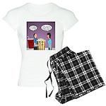 Movie Pop and Popcorn Women's Light Pajamas