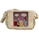 Movie Pop and Popcorn Messenger Bag